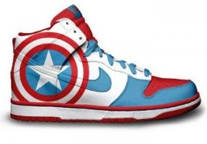 the best attitude 2200a 232e6 Captain America nikes! Oh my goodness, my son would be so excited if I got  him these.