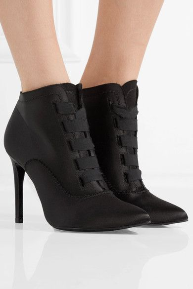 for nice cheap price Pedro Garcia Ana Satin Ankle Boots free shipping shop for k6fviLjdf