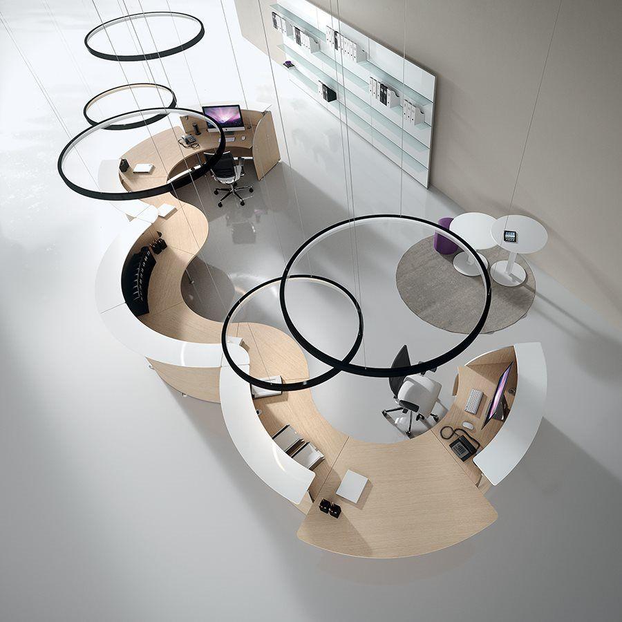 Reception counters and desks - DV071 - Della Valentina ...