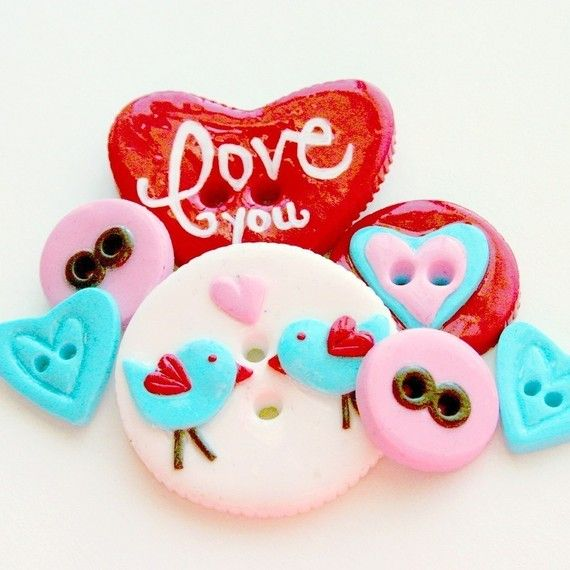 love buttons...