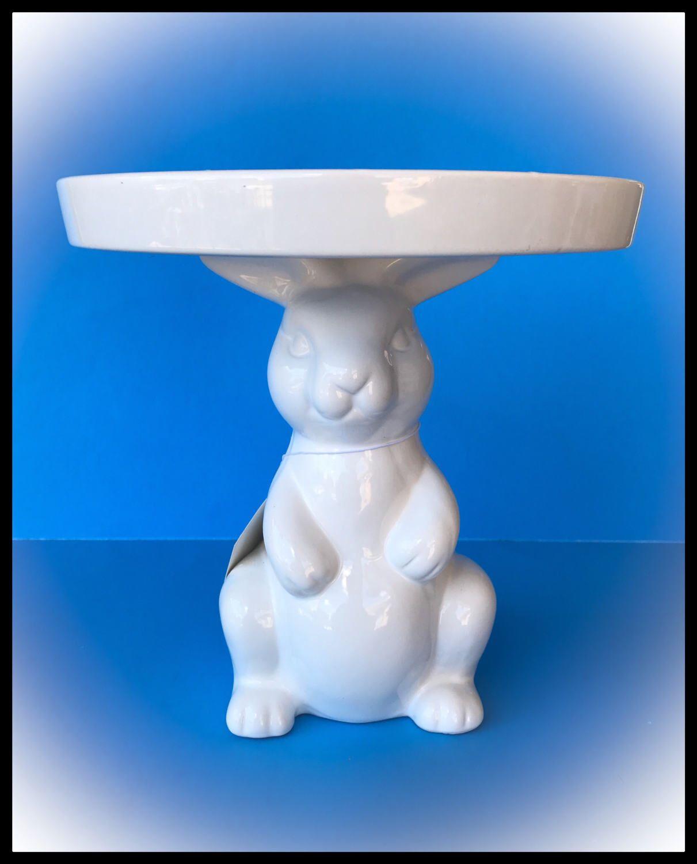 Bunny cakedessert stand etsy bunny cake dessert