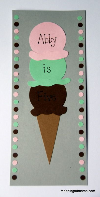 Homemade Ice Cream Birthday Invitations Birthdays, Ice cream - birthday invitation homemade