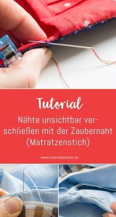 Photo of Mini-DIY: Versiegeln Sie die Nähte unsichtbar mit der magischen Naht (Matratzenstich) – Kreativlabor Berlin
