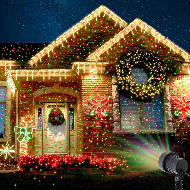 Christmas Laser Fairy Light Projection Outdoor Projector