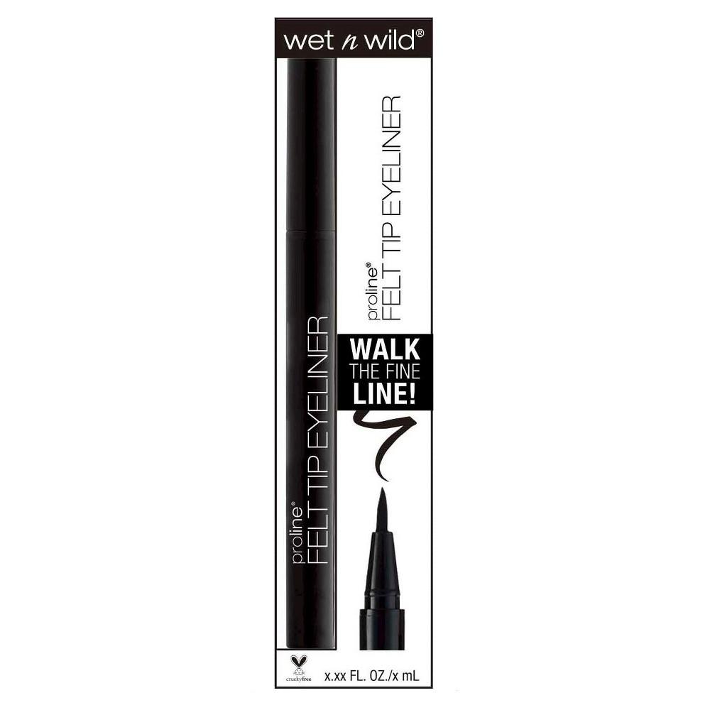 Wet n Wild ProLine Felt Tip Eyeliner - Black - .12oz  Felt tip