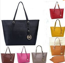 Nuevo Bolsas cymka moda famoso diseñadores marca Korss raya del monedero de la bolsa para mujeres cartera de los bolsos de mano Bolsas de mensajero