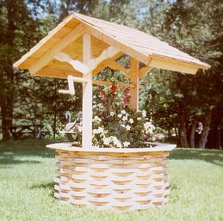 water well covers decorative click on an image to enlarge sheds bird houses outdoor. Black Bedroom Furniture Sets. Home Design Ideas