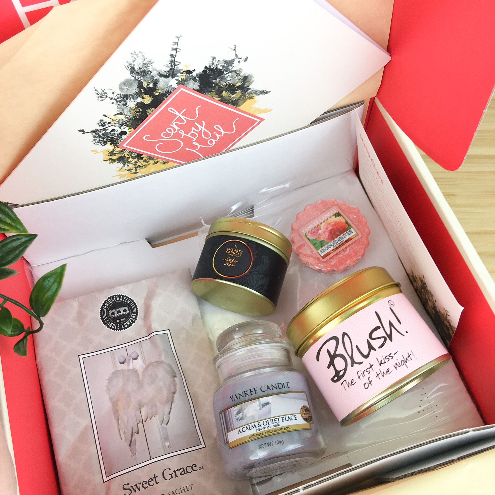 Scent by Mail a Candle Subscription Box