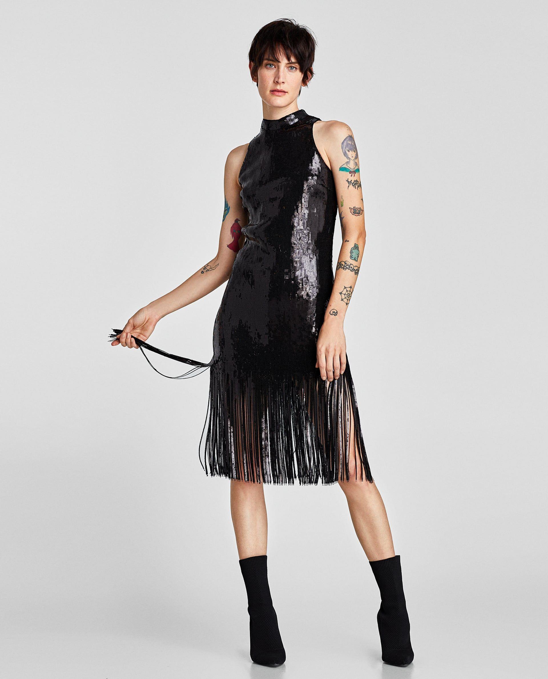 Zara woman vestidos fiesta