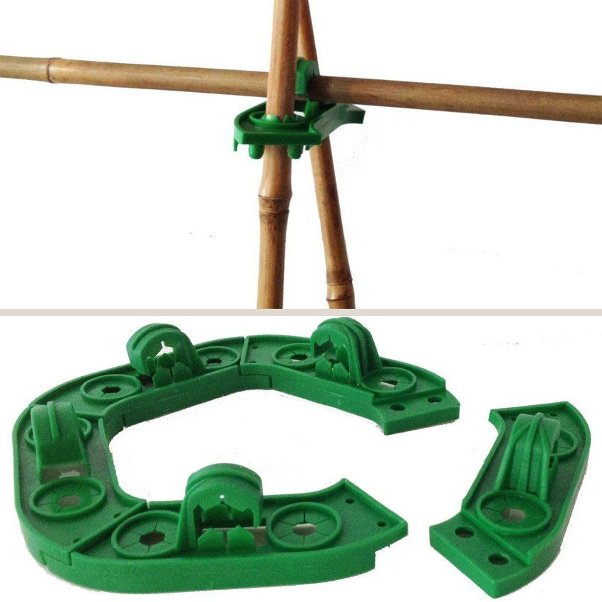 Wigwam Grips for Cane Support of Climbing Plant   Garden ...