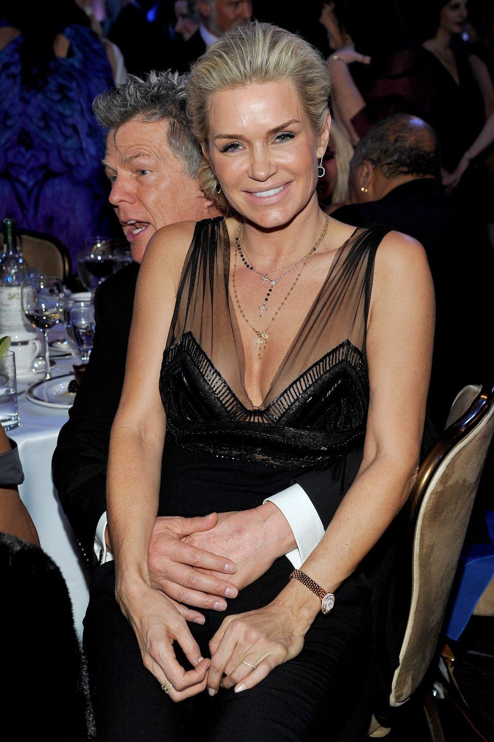 David His Beautiful Wife Yolanda Yolanda Foster Yolanda Foster Style Celebrity Style