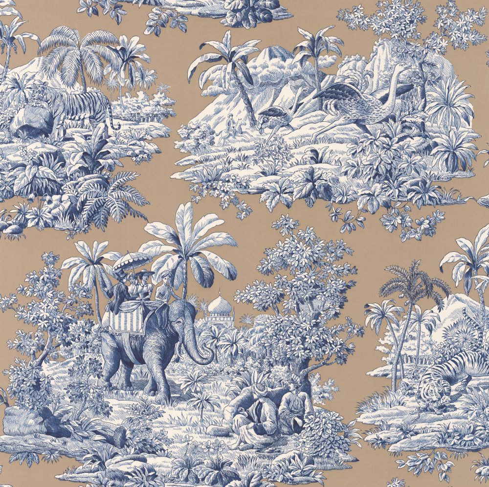 Bengale by Manuel Canovas Saphir Wallpaper 3012/03