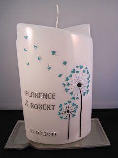 hochzeitskerze weddingcandle kerzen candles. Black Bedroom Furniture Sets. Home Design Ideas