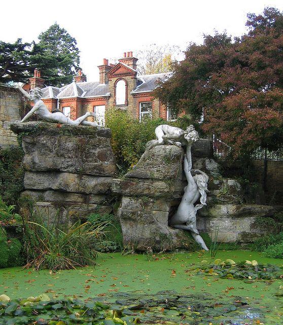 York House Gardens Statues, Twickenham