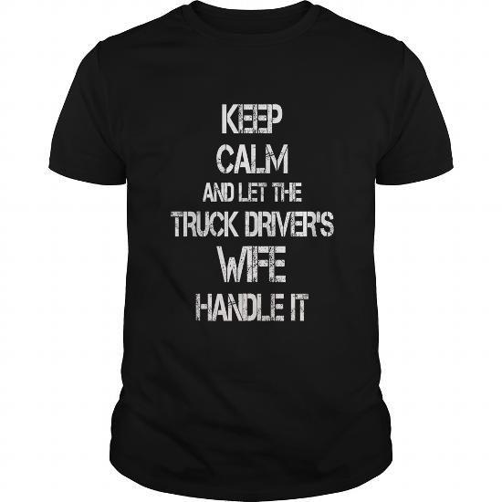 I Love Truck Driver T shirts