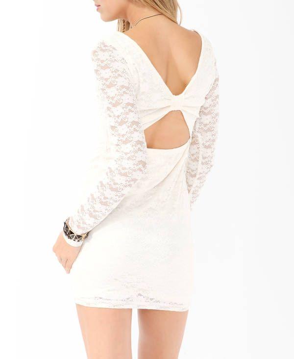 Tina Beegle: Open Back Lace Dress #Lockerz