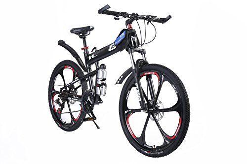 Mtb Folding Mountain Bike 26 24 Speed Premium Aluminium Alloy