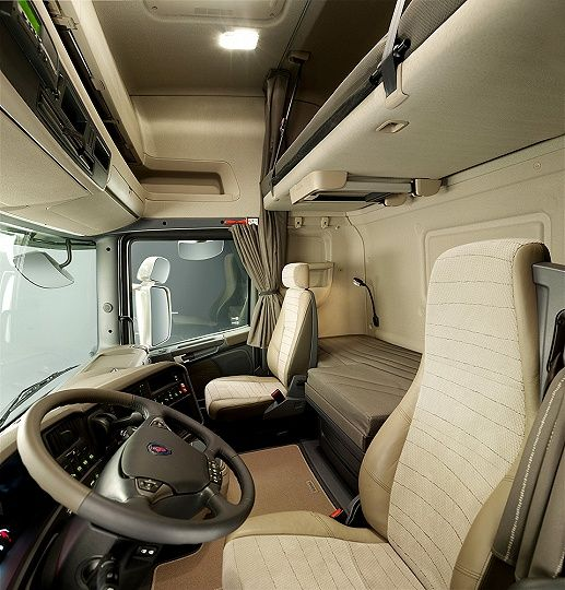 25 Pic Inside Truk Scania Keren With Images Truck Interior