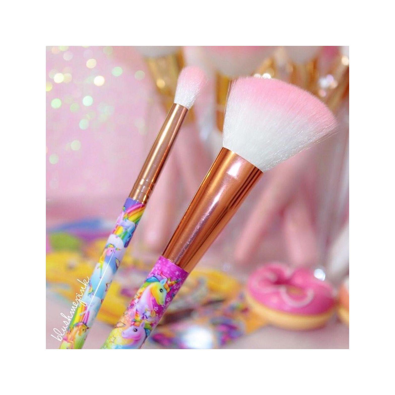 LisaFrankxGlamourDolls Angled Blush & Blending Brush
