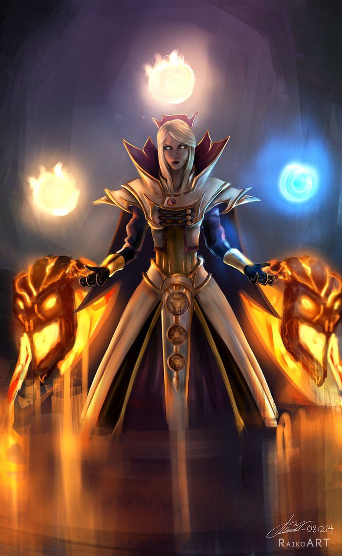 Dota 2 Genderbends Invoker By Raikoart On Deviantart Dota