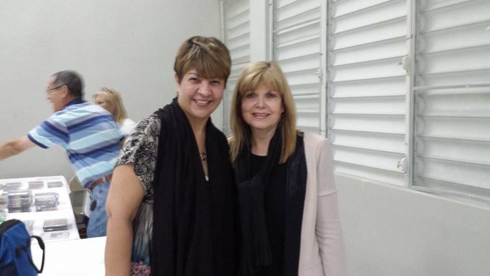 Dos #mujeresvalientes. Honrada de haber participado de su retiro con Martha Reyes,