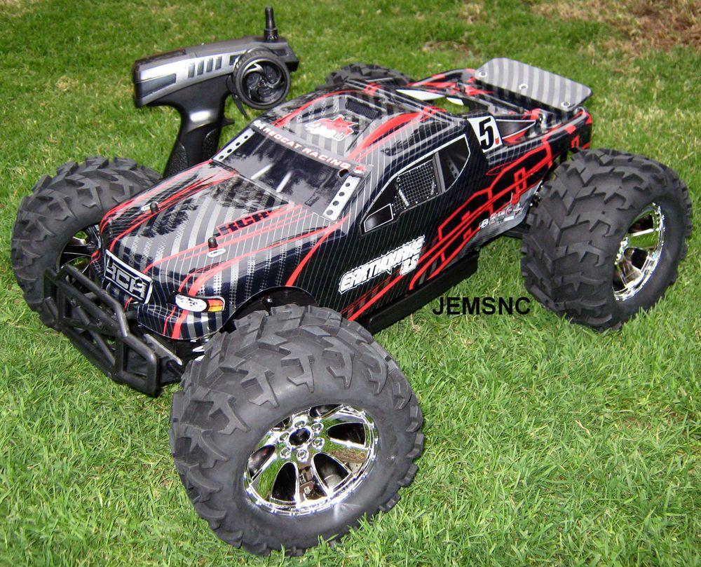 Redcat Rc Earthquake 3 5 1 8 Scale R C Nitro Truck New Fast Tough Top Selling Monster Trucks Nitro Rc Cars Nitro