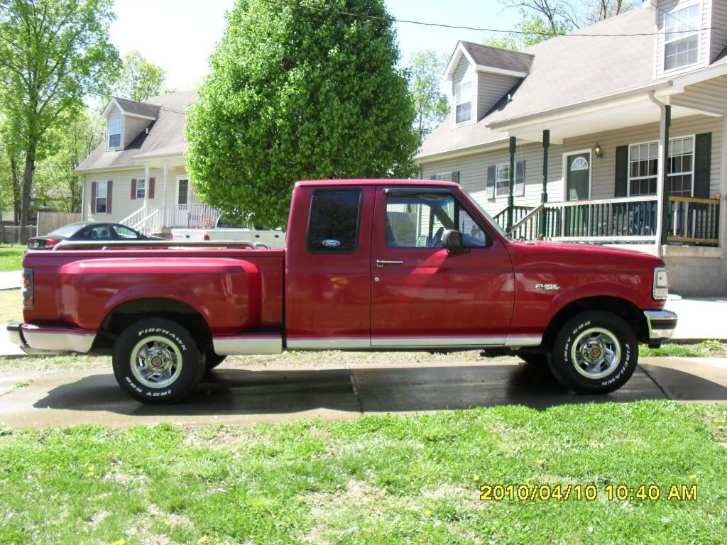9th generation ford f150 supercab flareside
