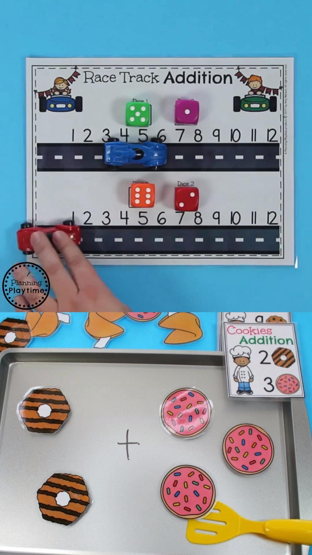 Kindergarten Math Addition Activities