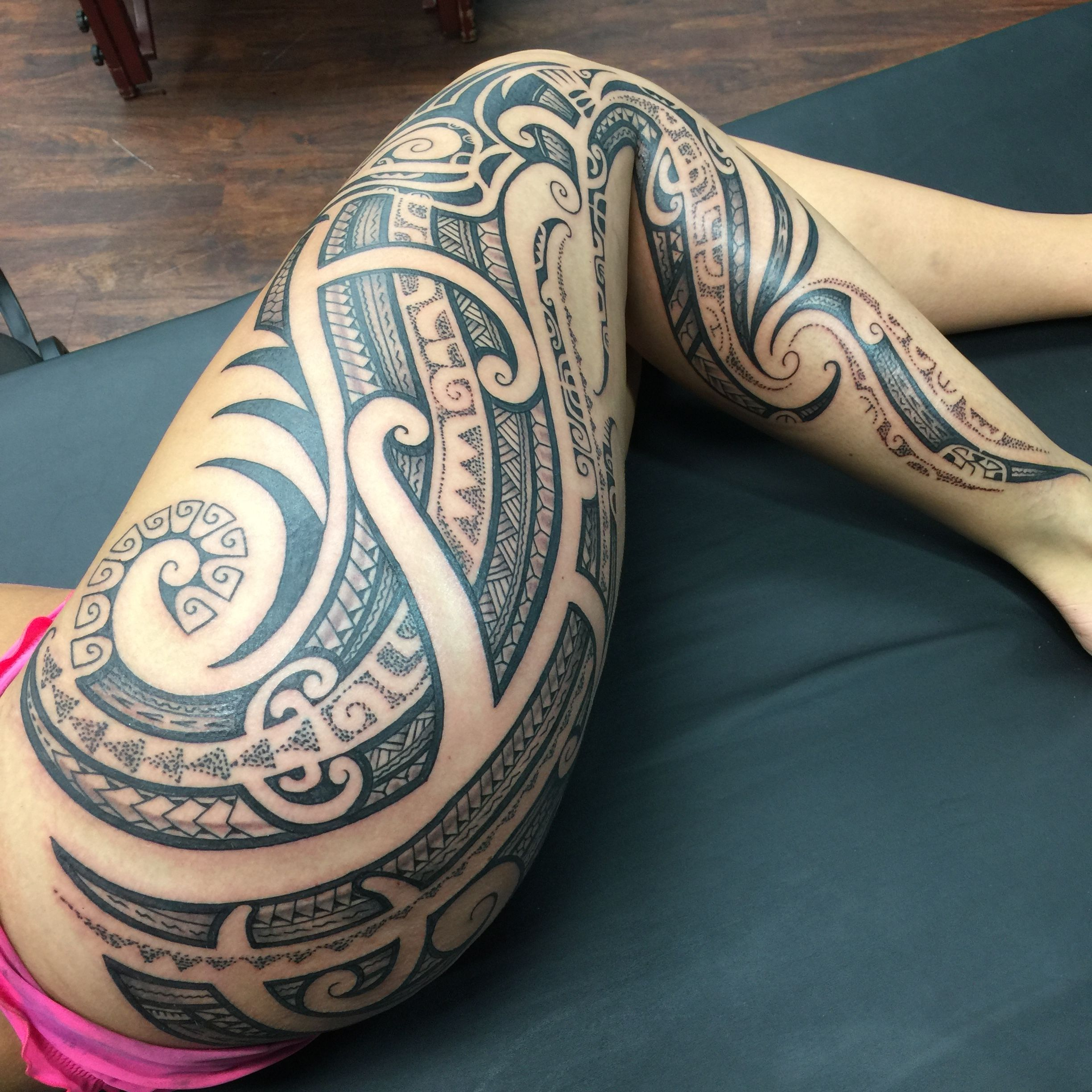 Pin By Native Flesh Brandon On Tattoos By Brandon Polynesian Tattoos Women Tribal Tattoos Maori Tattoo