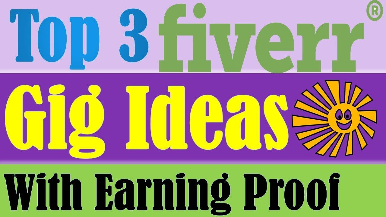 Make money on Fiverr without any skills, Fiverr gig ideas