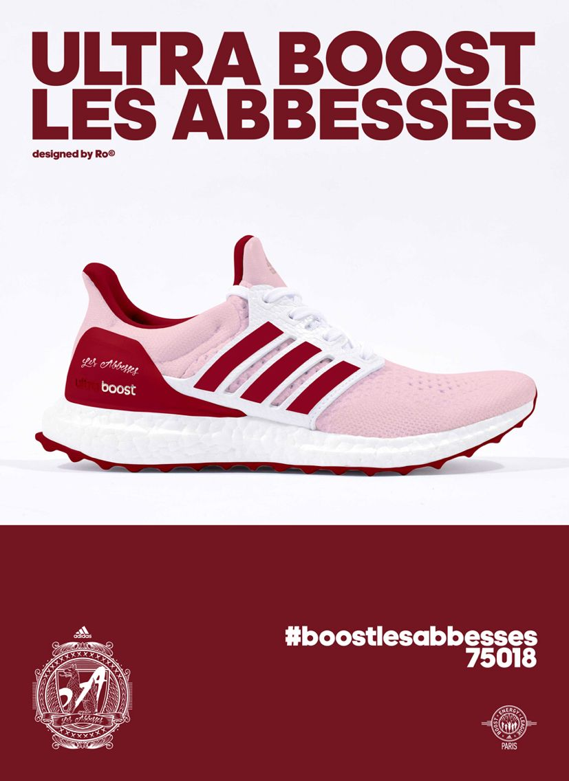 Adidas ultra impulso les Abbesses Adidas ultra Boost Paris Pinterest