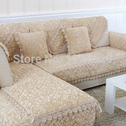 Sectional Couch Covers Luxury Slipcovers Sofa Cushion Autumn Warm Double Seat Lace Sofa Covers Spring 240cm 90cm Sofa Covers Cheap Cushions On Sofa Sofa Covers
