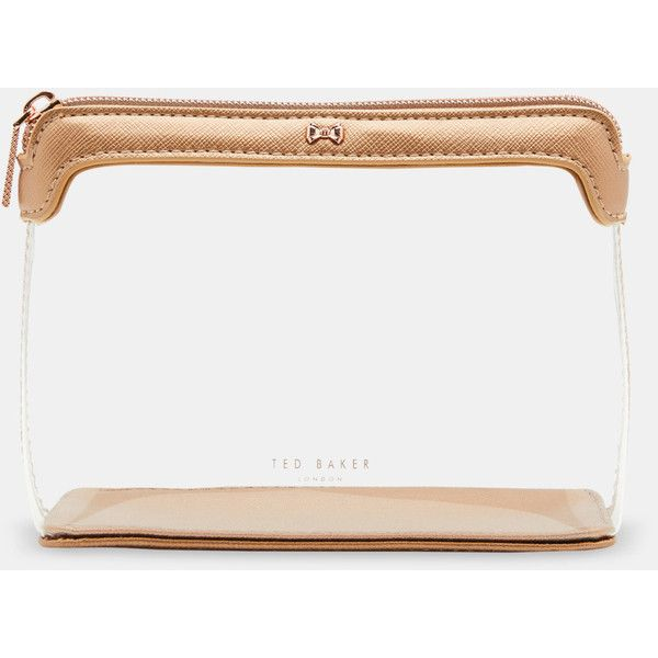 131df528bd57 Ted Baker Clear make up bag ( 39) ❤ liked on Polyvore featuring beauty  products