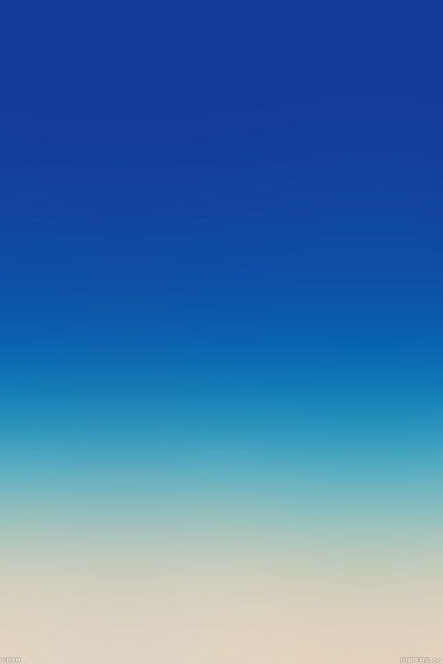 Sb10 Wallpaper Blue Sky Blue Blur Parallax Hd Iphone Ipad