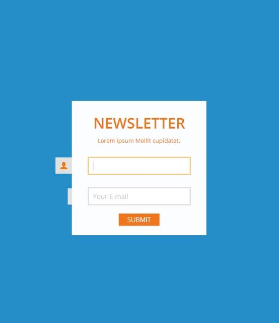 Simple Signup     stamplia html-email-template website - email signup template