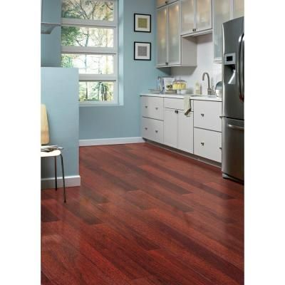 Home Legend High Gloss Santos Mahogany 38 In T X 4 34 In W X