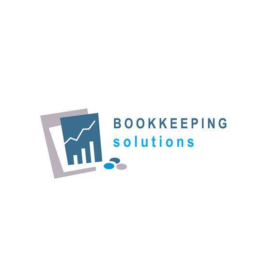 Bookkeeping logo, accounting logo, custom business logo