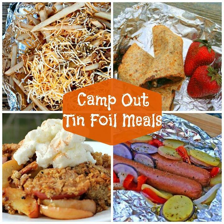 10 Camping Recipes And Ideas For Cooking Around The Campfire: Campfire Food, Camping
