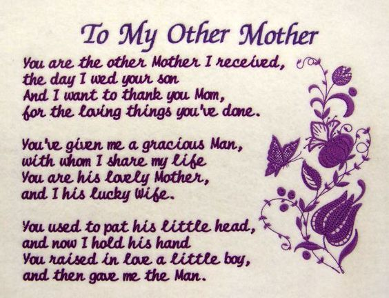 Happy Mothers Day Quotes For Mothers In Law, Mother's Day