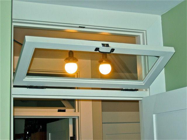 Interior Transom Window Over Door