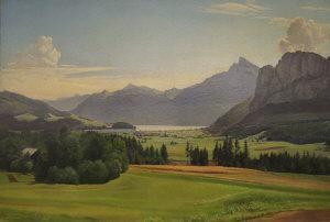 Leo Frank - Alpine Landscape