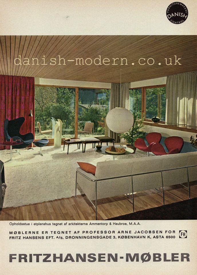 Arne Jacobsen for Fritz Hansen