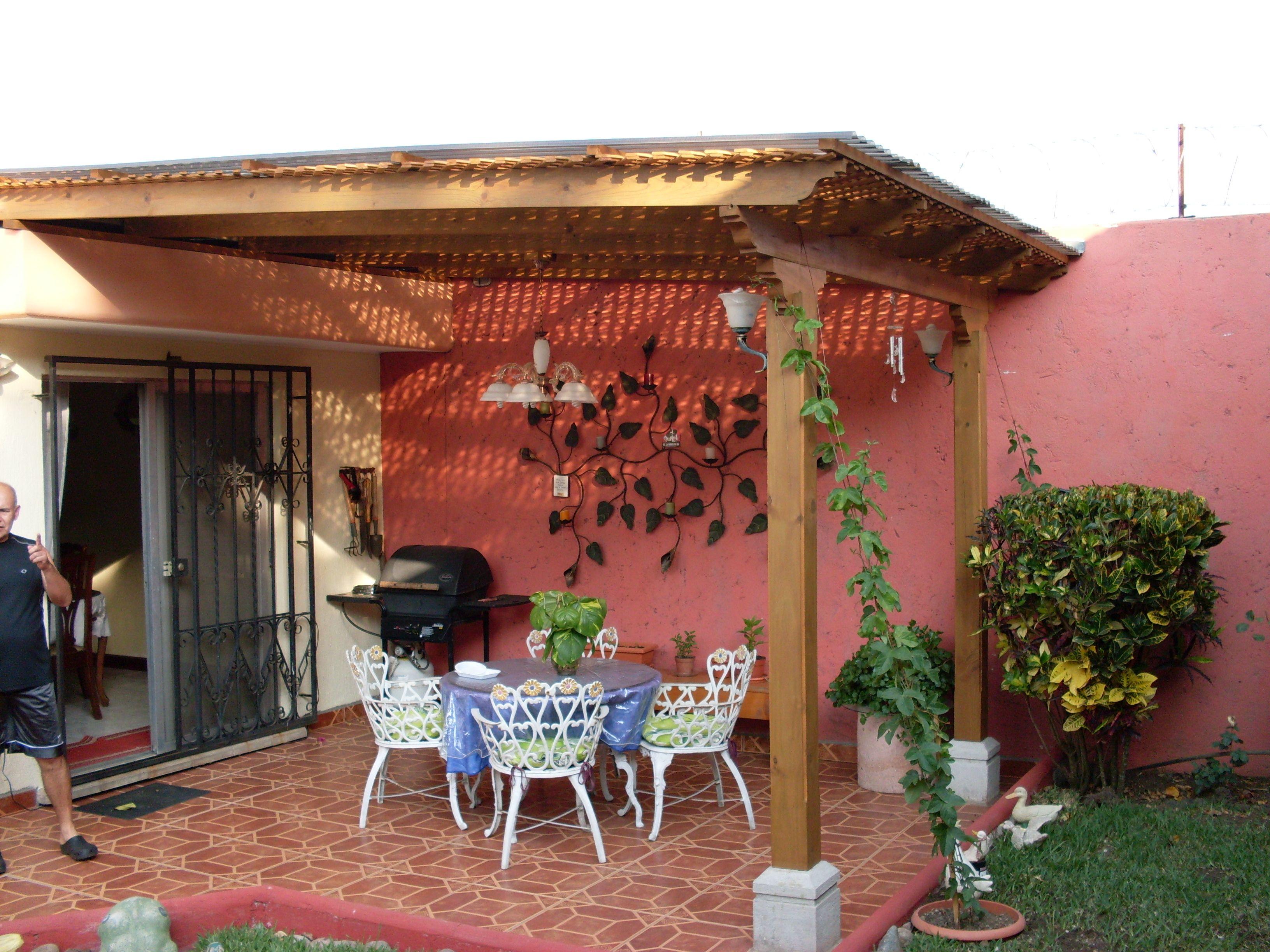 Pergolas de madera buscar con google pergolas pinterest patios pergolas and small pools - Pergola de madera ...