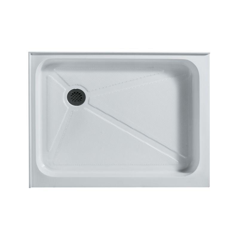 Vigo Vg060193648l 36 X 48 Rectangular Shower Tray White Left Drain Showers