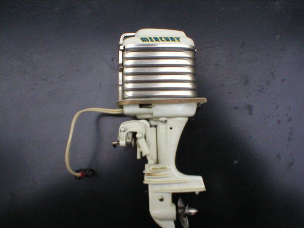 Details about Vintage 1950's KIEKHAEFER MERCURY MARK 78-A Toy