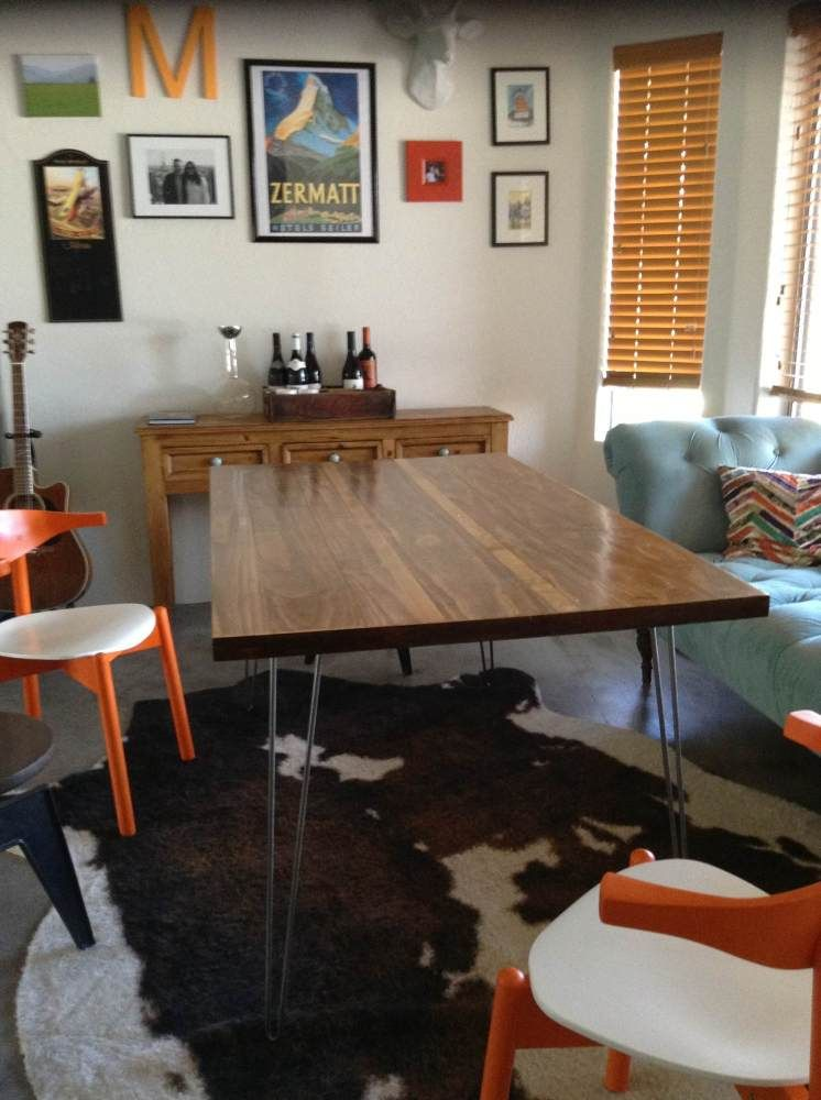 If You Build It They Will Brunch Hairpin Leg Dining TableDiy Room