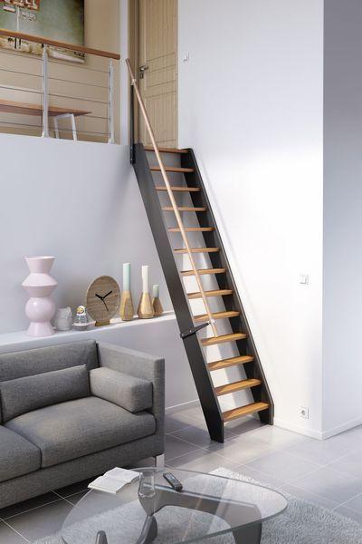 Escalier Gain De Place Venise En Bois Lapeyre Chambre Loft Echelle Escalier Escalier Meunier