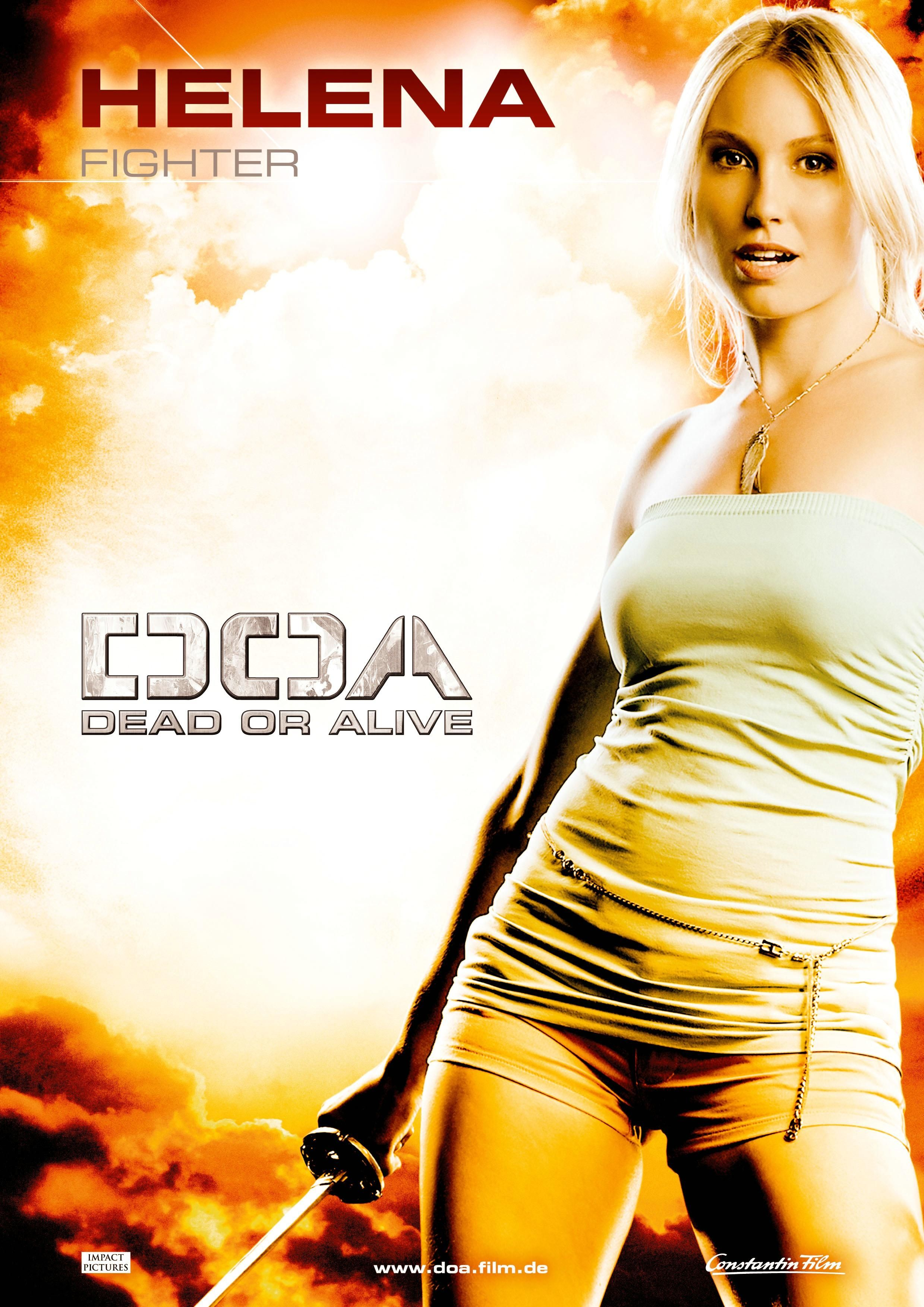 Doa Dead Or Alive 2006 Artes Marciais Marcial Poster