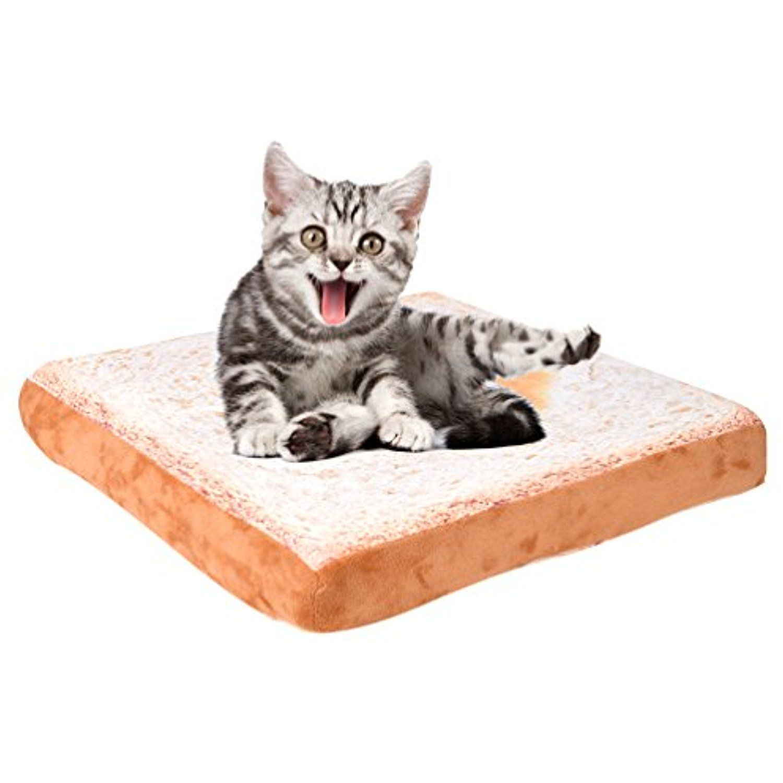Petacc Pet Bed Soft Plush Cat Cushion Comfortable Dog
