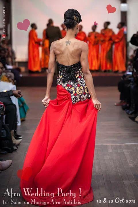 Les 12 et 13 octobre dernier s est tenu paris le premier salon afro antillais du mariage afro - Salon afro antillais paris ...